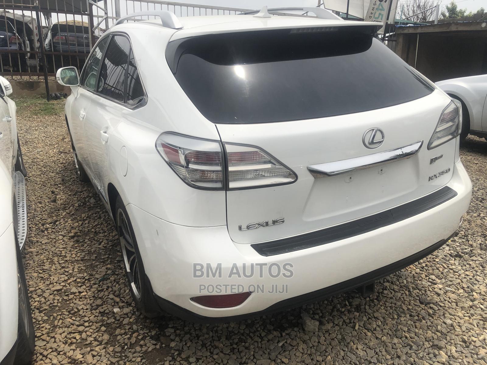 Lexus RX 2010 350 White | Cars for sale in Ojodu, Lagos State, Nigeria