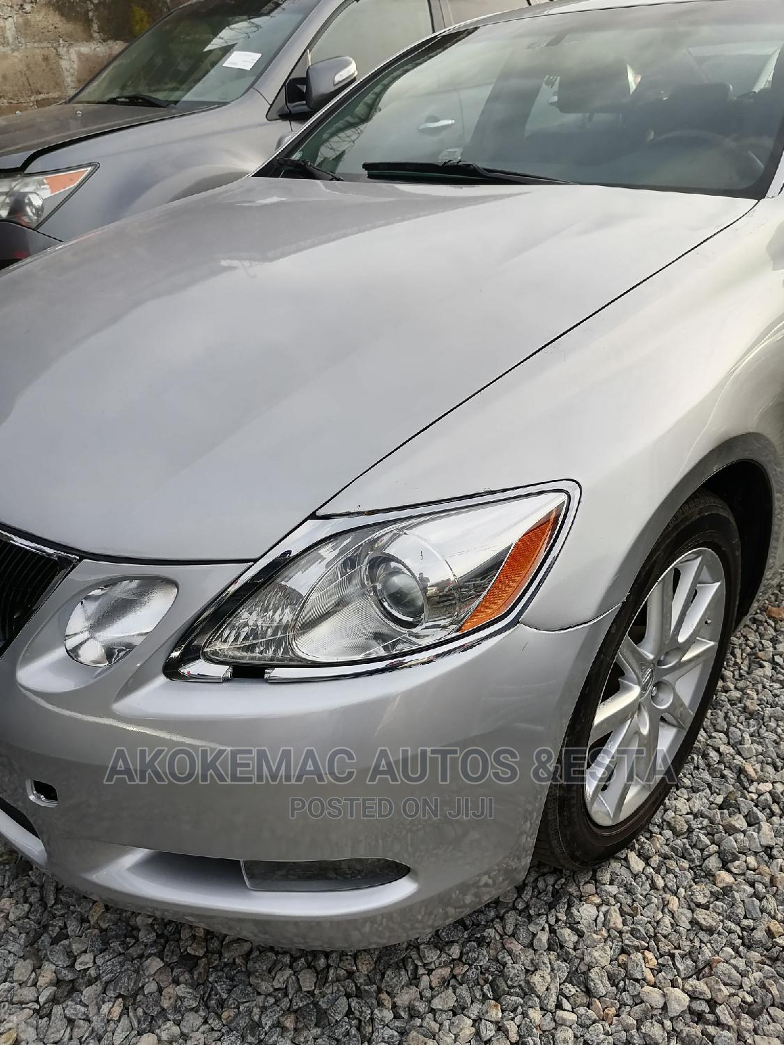 Lexus GS 2008 300 Silver | Cars for sale in Ikeja, Lagos State, Nigeria