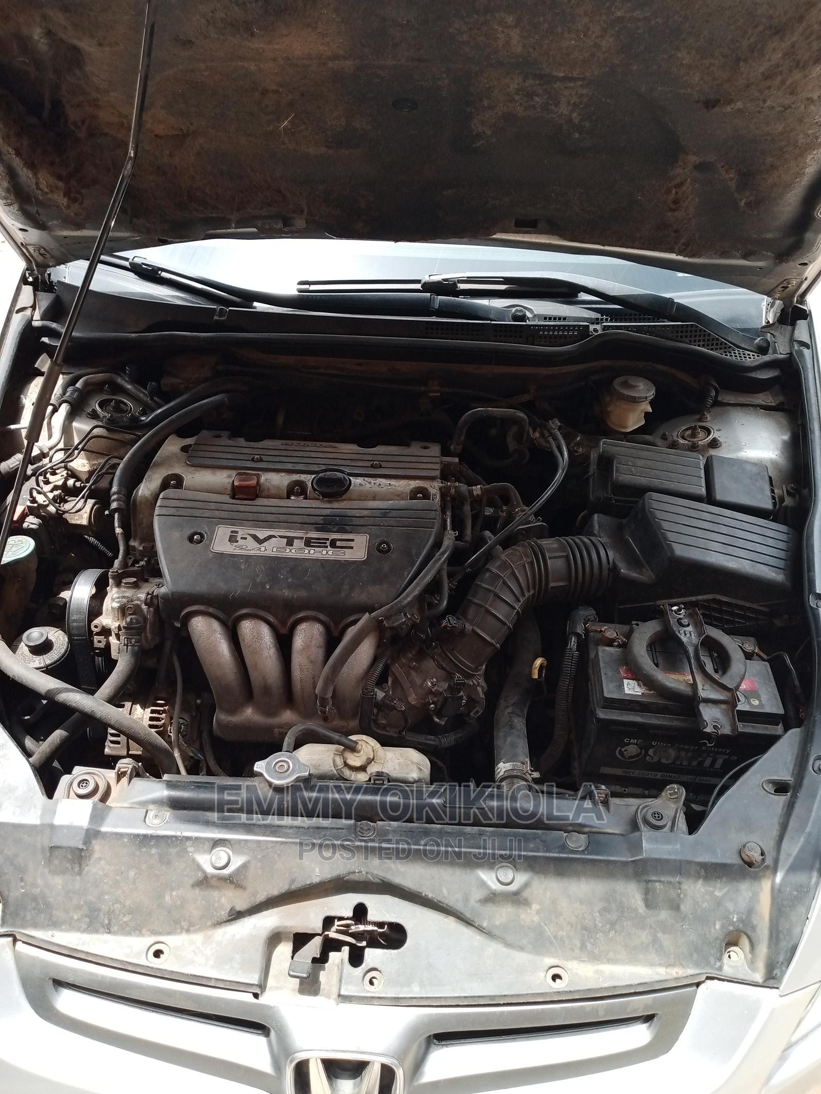 Archive: Honda Accord 2003 2.4 Automatic Silver