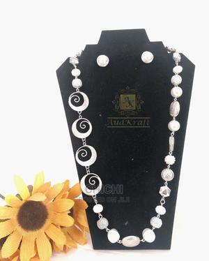 Pearl Silver Necklace   Jewelry for sale in Lagos State, Lekki