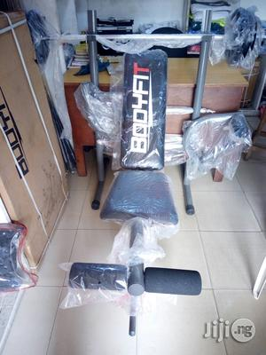 Bench Press With 50kg Weight   Sports Equipment for sale in Lagos State, Ikeja
