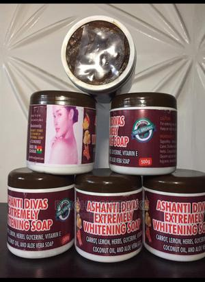 Ashanti Extremely Whitening Black Soap | Skin Care for sale in Rivers State, Port-Harcourt