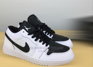 Nike Air Jordan 1 Retro Low Black White   Shoes for sale in Lagos State, Lagos Island (Eko)