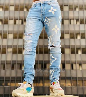 Luxury Louis Vuitton Jeans Trouser   Clothing for sale in Lagos State, Lagos Island (Eko)