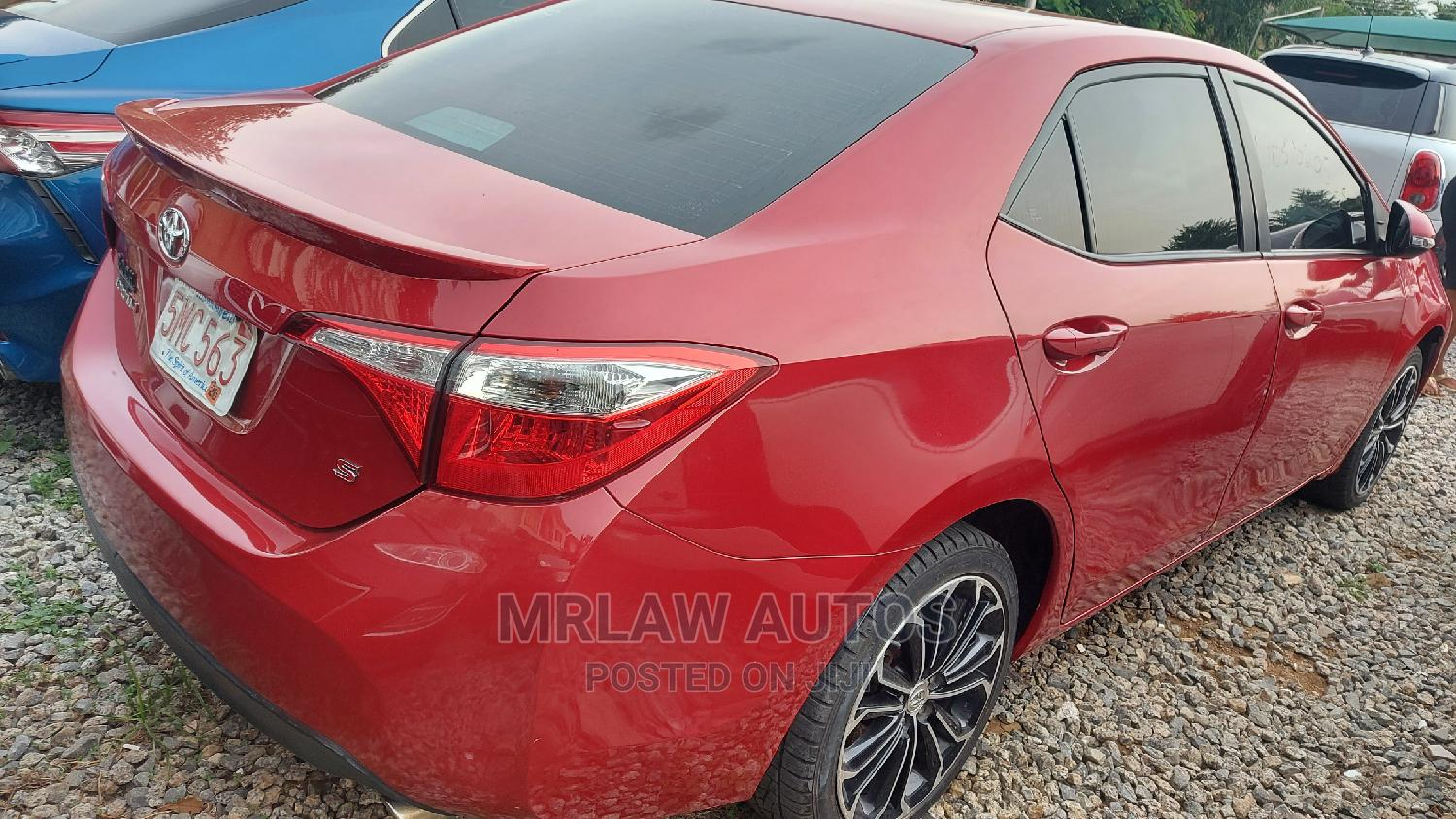 Archive: Toyota Corolla 2014 Red