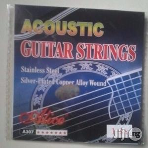 Stainless Steel Acoustic Guitar Strings | Musical Instruments & Gear for sale in Lagos State, Ikeja