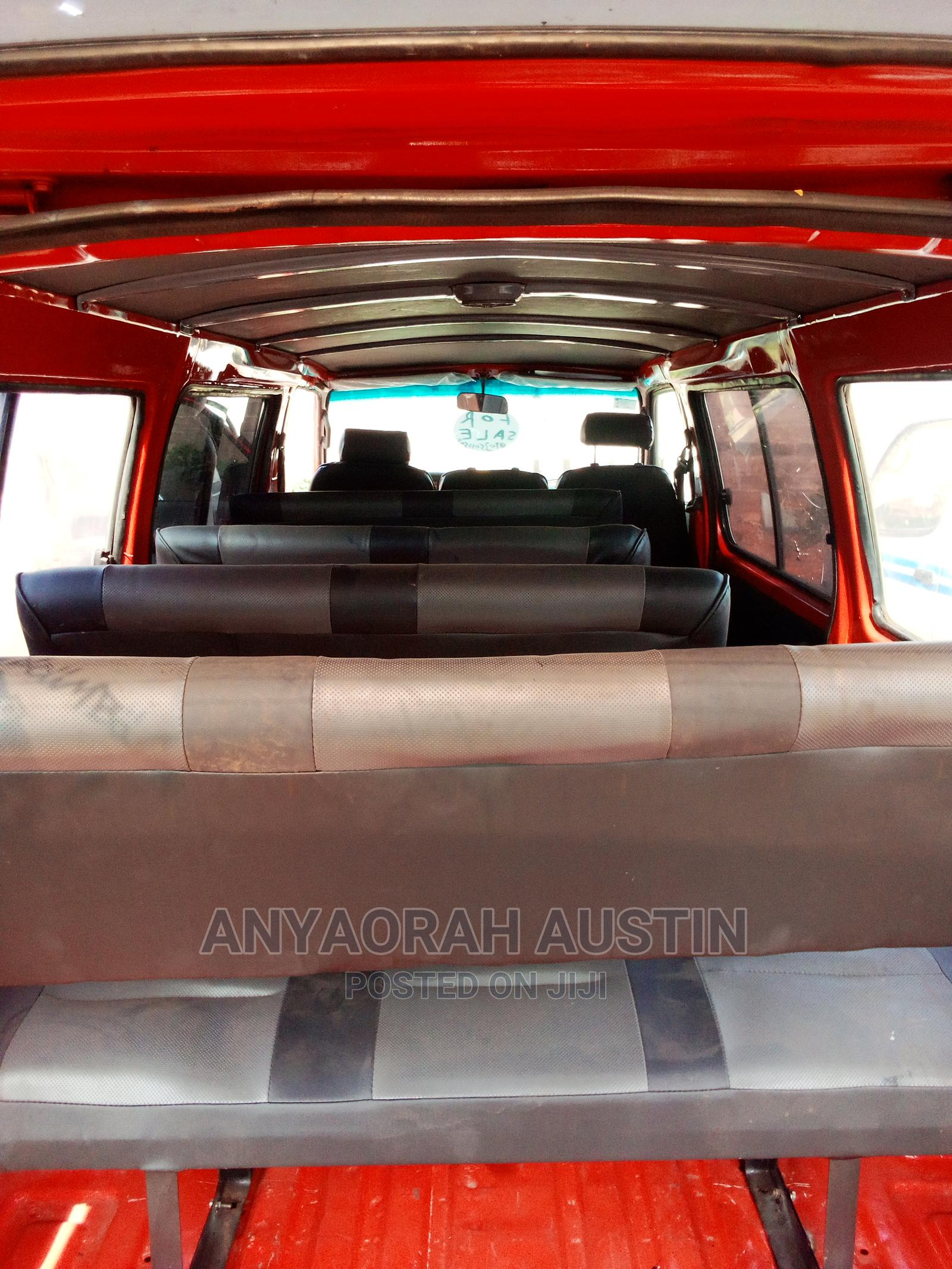 Archive: Clean Used Hiace Bus With Tokunbo Engine 2002