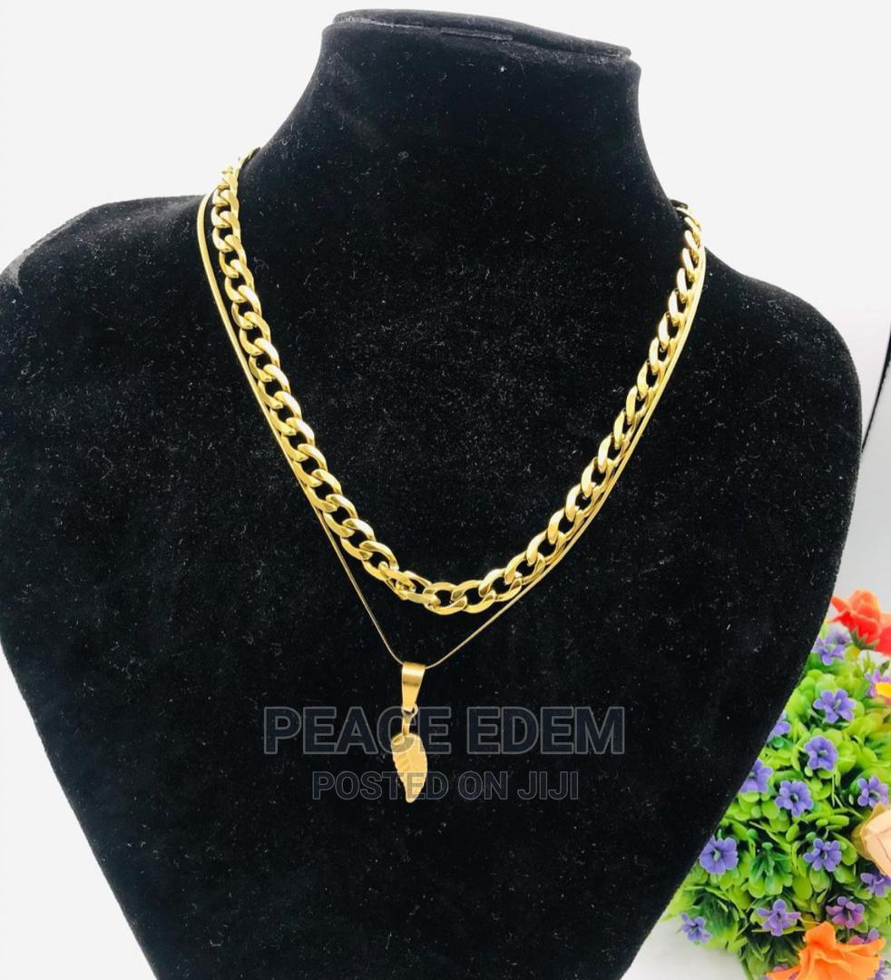Double Stack Necklace Set | Jewelry for sale in Ajah, Lagos State, Nigeria