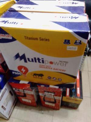 Multi Power Solar Tubular Battery 220ah / 12v | Solar Energy for sale in Lagos State, Ojo