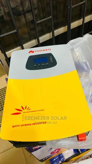 5kva Yohako Hybrid Solar Inverter 24v | Solar Energy for sale in Lagos State, Ojo