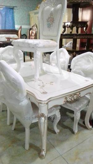 Royal Wooden Dining Table By6 .   Furniture for sale in Lagos State, Ojo