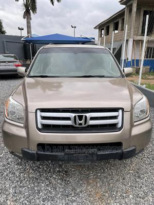 Honda Pilot 2006 EX-L 4x4 (3.5L 6cyl 5A) Gold | Cars for sale in Oyo State, Ibadan