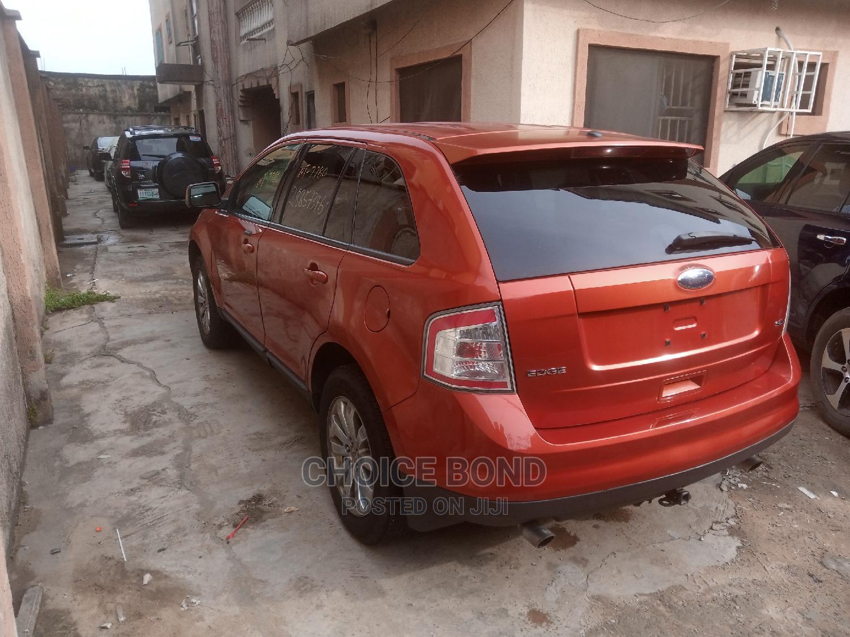 Ford Edge 2008 Orange   Cars for sale in Isolo, Lagos State, Nigeria