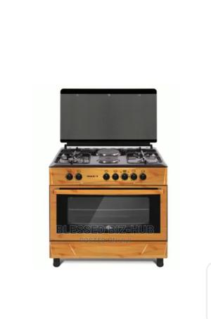 MAXI STYLE 60*90 (4+2) WOOD Gas Cooker | Kitchen Appliances for sale in Oyo State, Ibadan