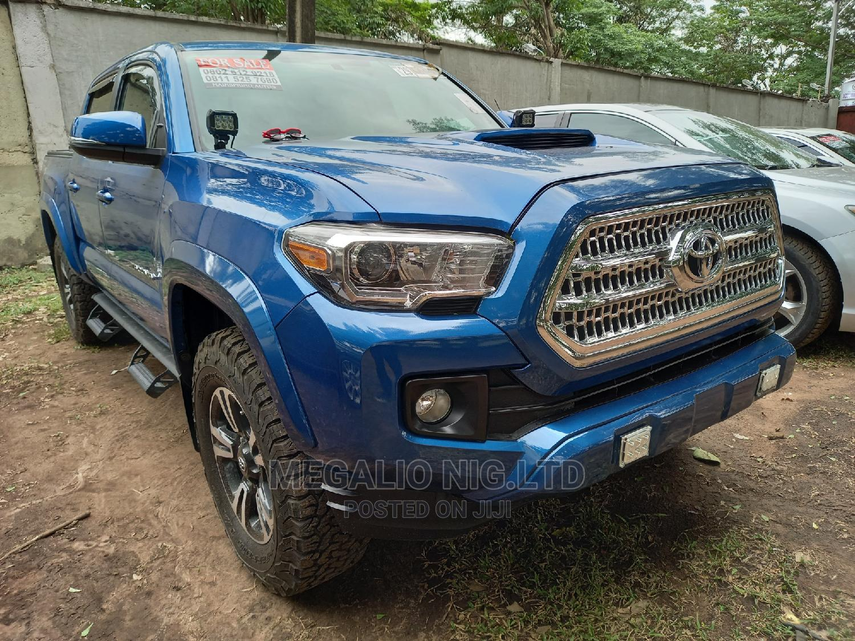 Toyota Tacoma 2016 4dr Double Cab Blue