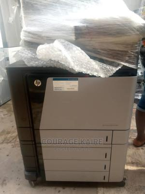 Hp Color Laser Jet Flow MFP 880   Printers & Scanners for sale in Lagos State, Ojo