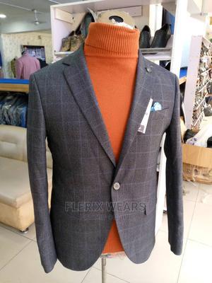 Latest Turkey Carton Brown Checkers Blazer for Men   Clothing for sale in Lagos State, Lagos Island (Eko)