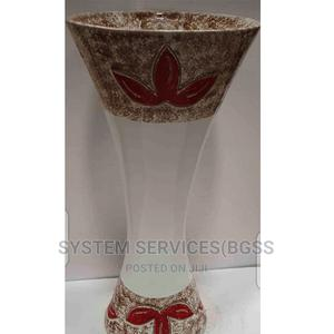 Single Wash Hand Basin With Red Design | Plumbing & Water Supply for sale in Lagos State, Maryland