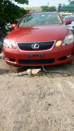 Lexus GS 2007 300 Automatic Red | Cars for sale in Lagos State, Apapa