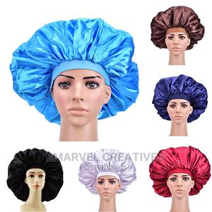 Extra Large Satin Sleep Cap High Quality Waterproof Shower | Clothing Accessories for sale in Lagos State, Surulere