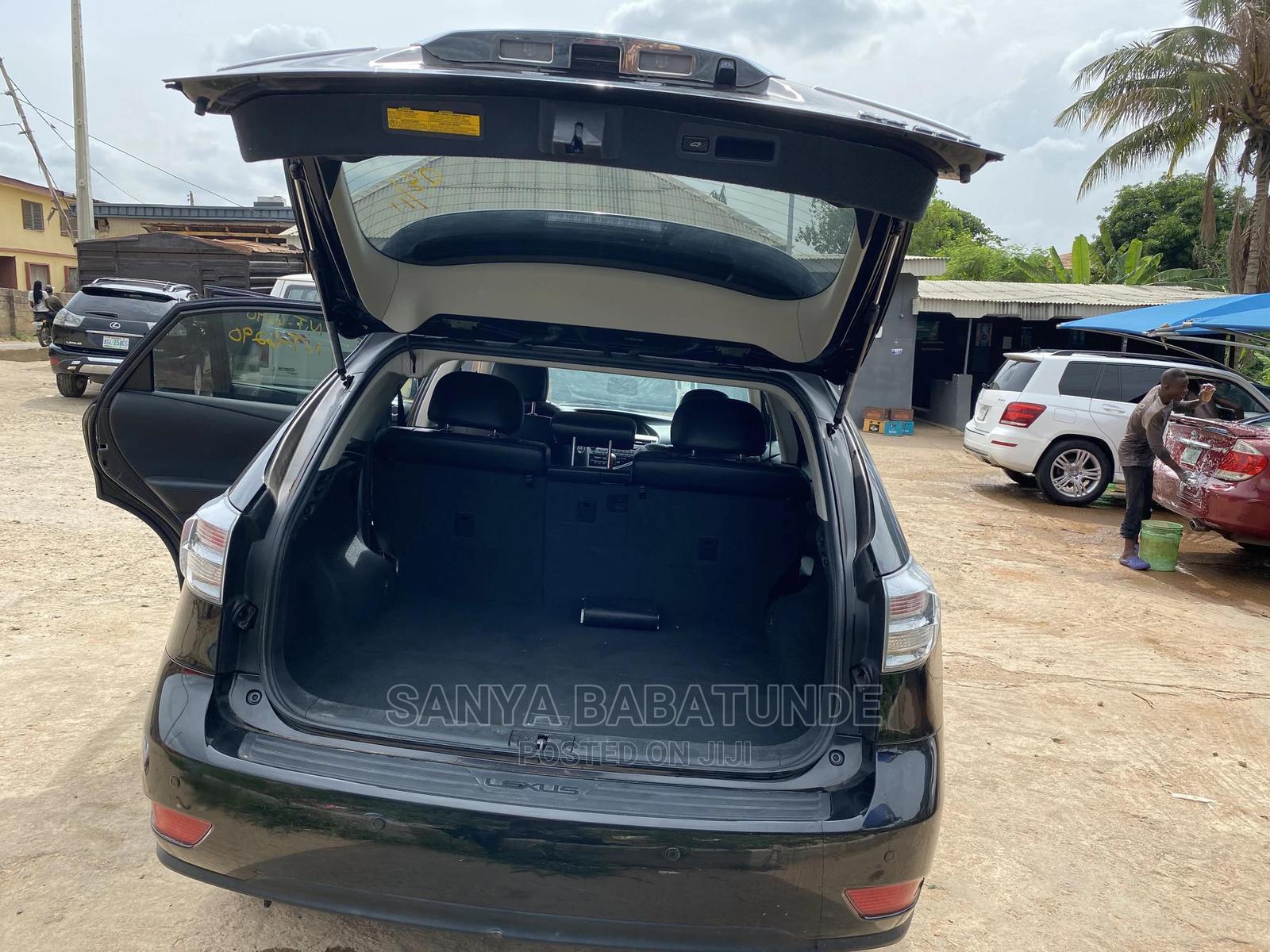 Archive: Lexus RX 2012 Black