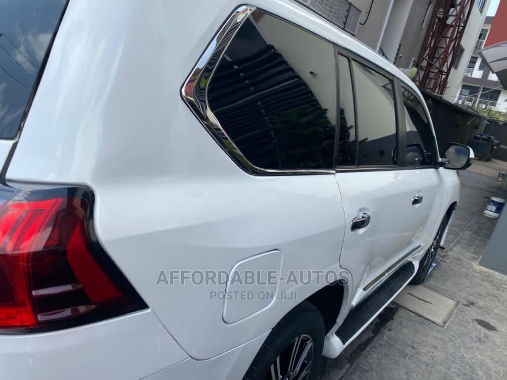 Lexus LX 2012 570 White   Cars for sale in Lekki, Lagos State, Nigeria