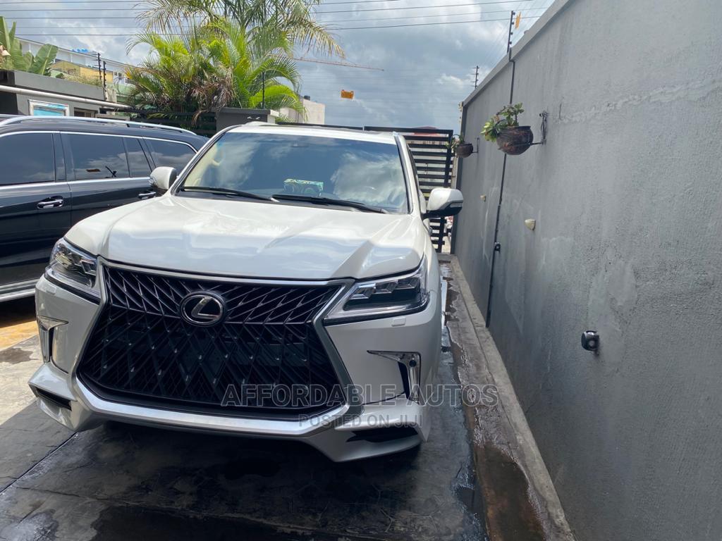 Lexus LX 2012 570 White