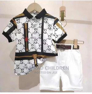 Gucci Top and Short Comes With Belt | Children's Clothing for sale in Lagos State, Agbara-Igbesan