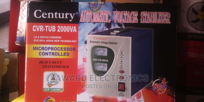 Century Automatic Voltage Stabilizer,Model CVR-TUB 2000VA