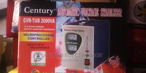 Century Automatic Voltage Stabilizer,Model CVR-TUB 2000VA | Electrical Equipment for sale in Lagos State, Ikeja