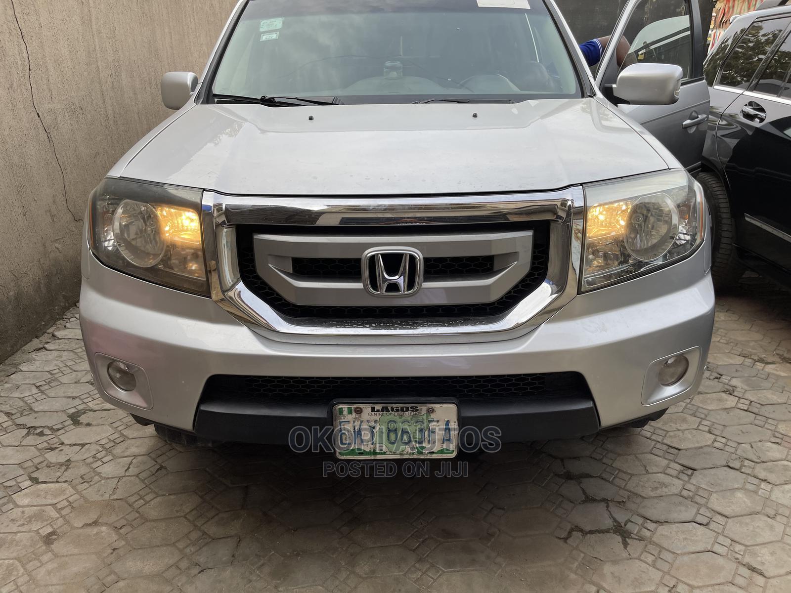 Honda Pilot 2011 Silver   Cars for sale in Ojodu, Lagos State, Nigeria