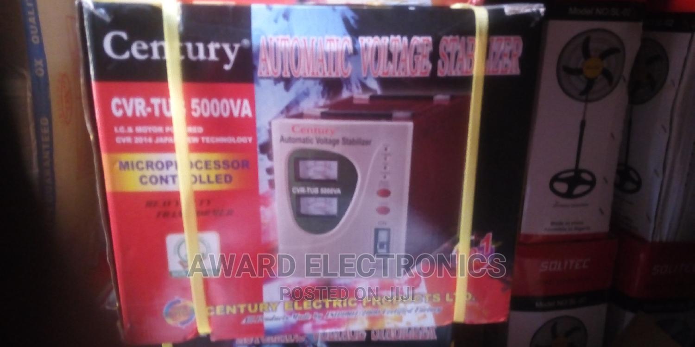 Century Automatic Voltage Stabilizer Model CVR-TUB-5000VA
