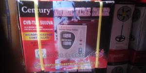 Century Automatic Voltage Stabilizer Model CVR-TUB-5000VA | Electrical Equipment for sale in Lagos State, Ikeja