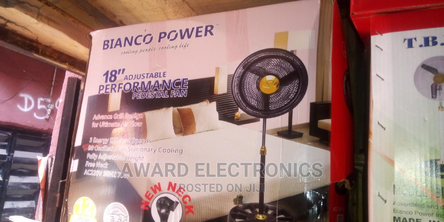 Bianco Power Standing Fan 18inches