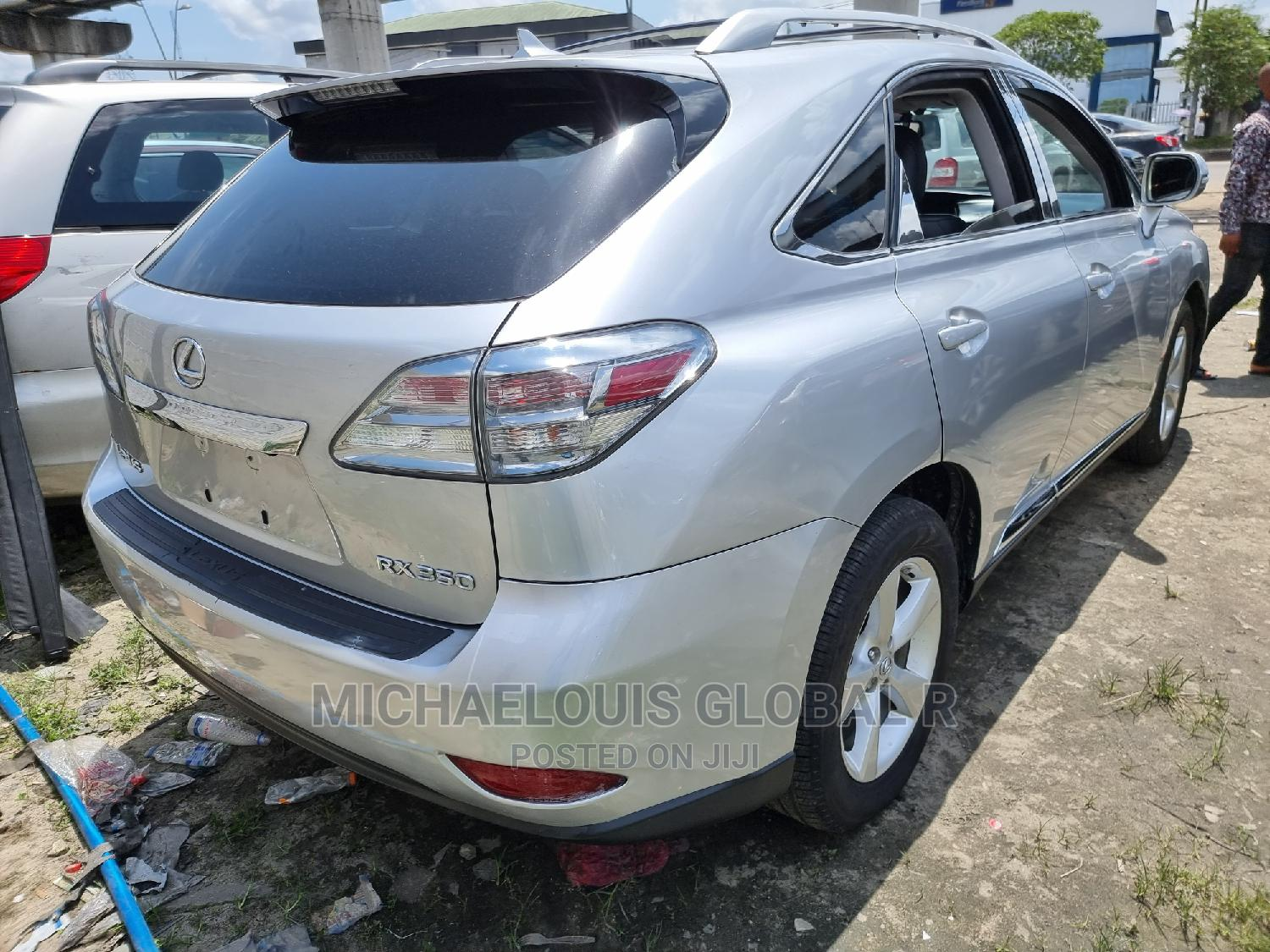 Lexus RX 2010 350 Silver   Cars for sale in Port-Harcourt, Rivers State, Nigeria