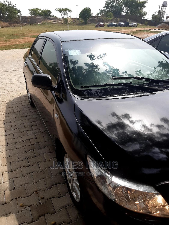 Archive: Toyota Corolla 2008 1.8 LE Black
