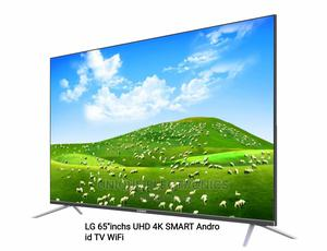 New One LG 65'' 4K UHD SMART Android TV Netflix App+Mount   TV & DVD Equipment for sale in Lagos State, Lagos Island (Eko)