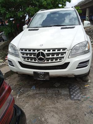 Mercedes-Benz M Class 2011 ML 350 4Matic White   Cars for sale in Lagos State, Apapa
