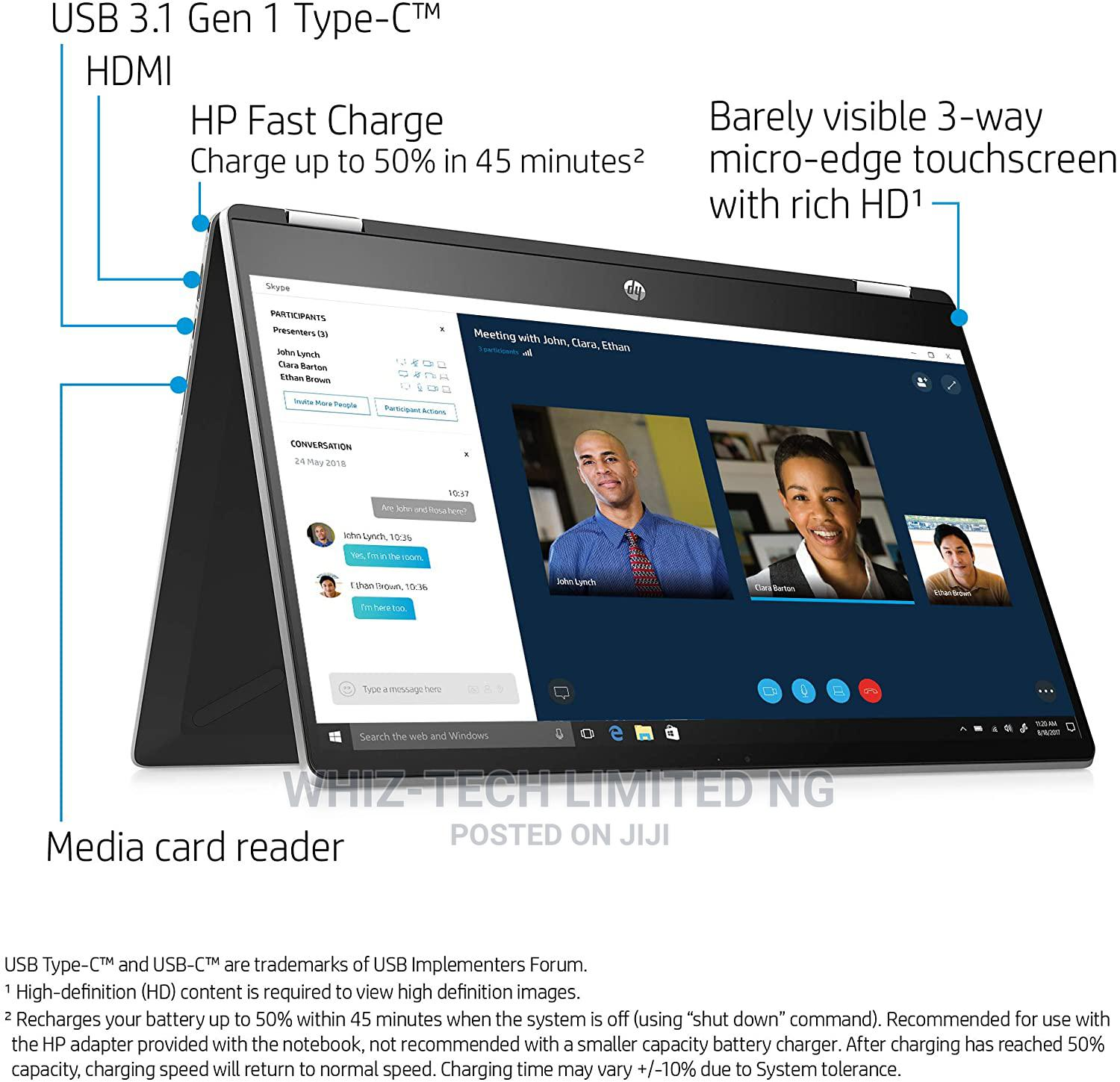 New Laptop HP Pavilion X360 8GB Intel Core I5 HDD 1T   Laptops & Computers for sale in Ikeja, Lagos State, Nigeria