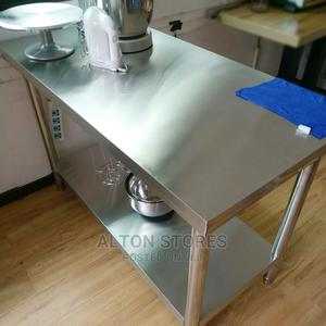 Stainless Bakery Working Table | Restaurant & Catering Equipment for sale in Abuja (FCT) State, Lugbe District