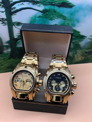 Quality Gold Men Watch | Watches for sale in Lagos State, Yaba