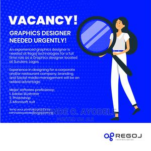 Graphics Designer wanted   Computing & IT Jobs for sale in Lagos State, Surulere