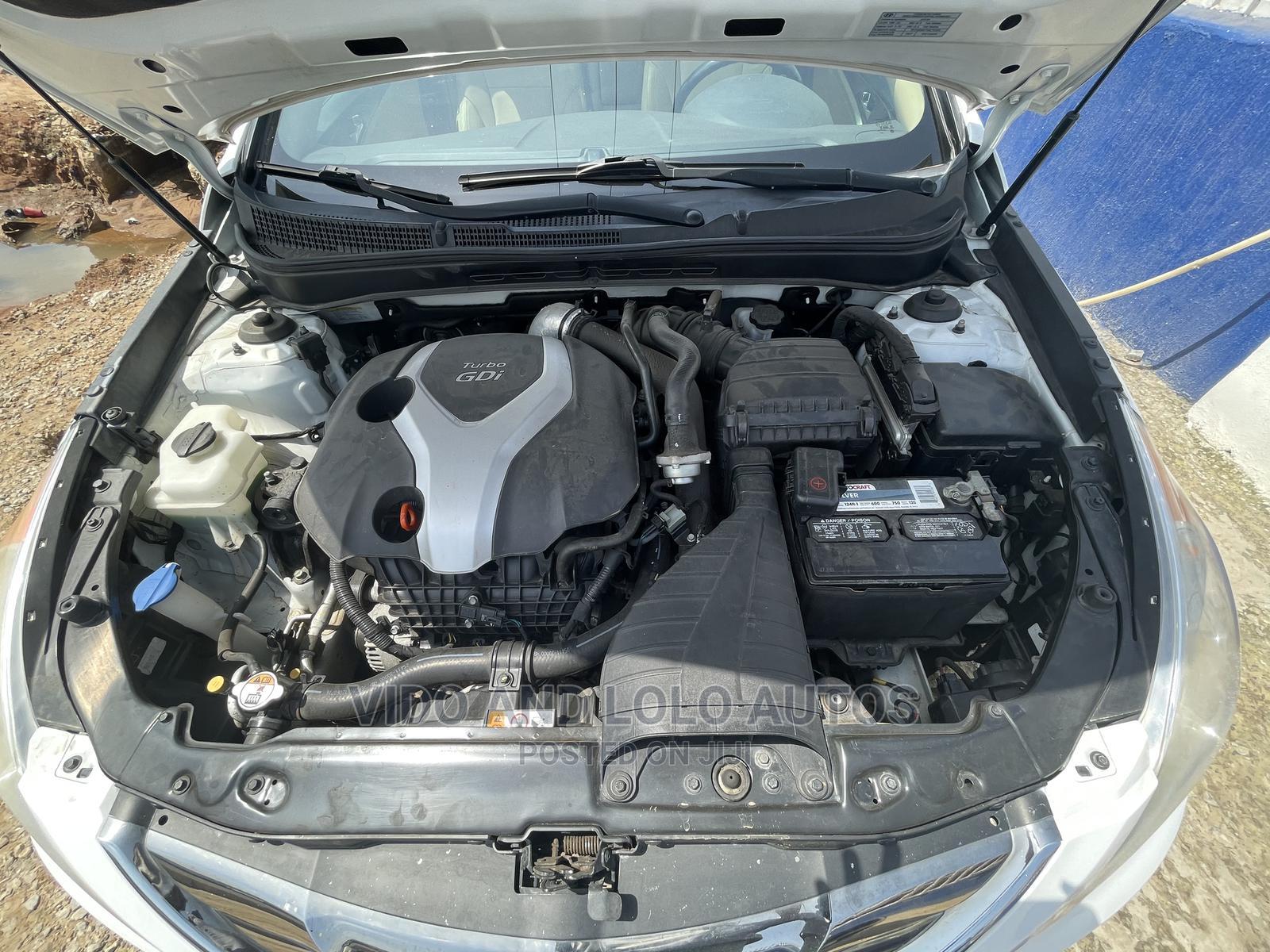Hyundai Sonata 2013 White   Cars for sale in Ikeja, Lagos State, Nigeria