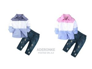 Boys Colorblock 2 Piece Set | Children's Clothing for sale in Lagos State, Ikeja