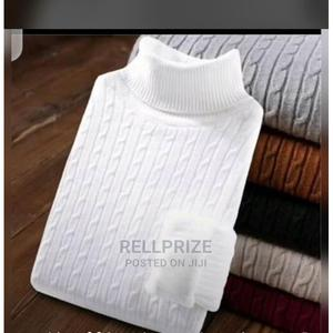 Men/Women Long Sleeve Turtle Neck T-Shirt White   Clothing for sale in Lagos State, Isolo