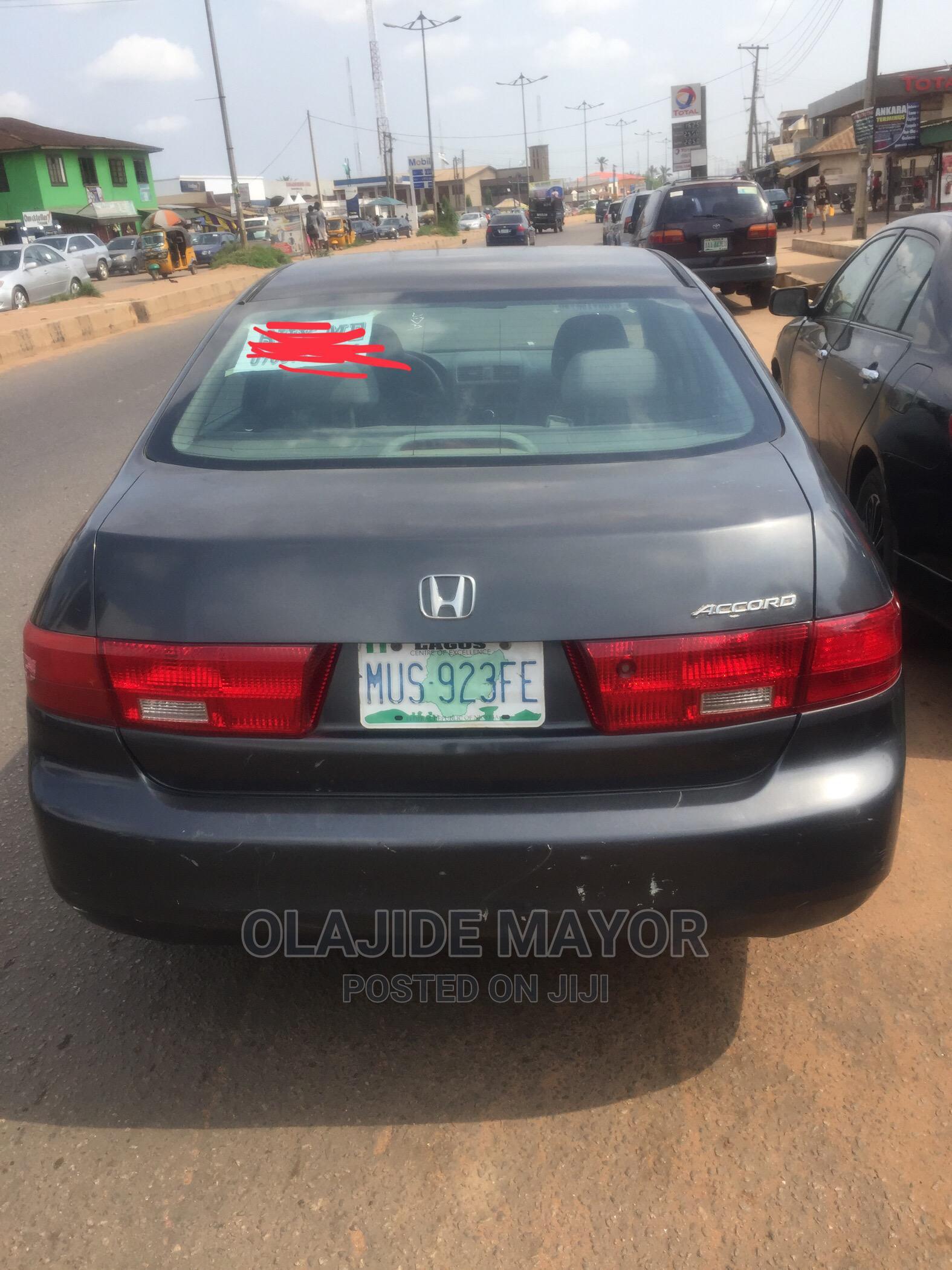 Honda Accord 2003 2.2 D Gray | Cars for sale in Sagamu, Ogun State, Nigeria