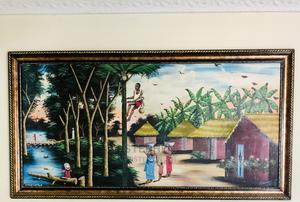 The Hamlet - Oil on Canvas | Arts & Crafts for sale in Lagos State, Gbagada