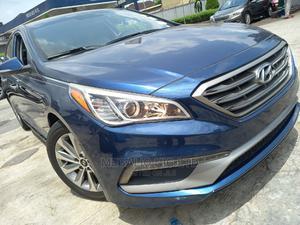 Hyundai Sonata 2015 Blue | Cars for sale in Lagos State, Ikeja