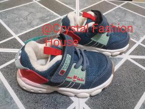 Baby Sneakers Blue and White | Children's Shoes for sale in Lagos State, Isolo