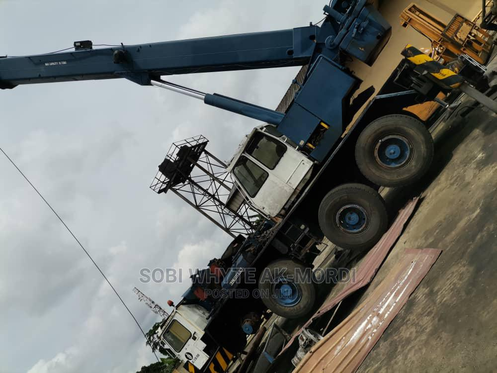 Archive: 80 Ton Faulted Crane